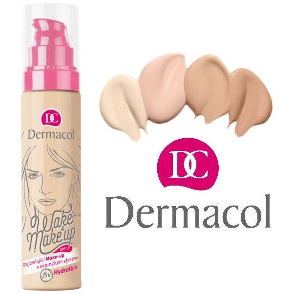 Fabled Look - Dermacol Wake & make-up shades