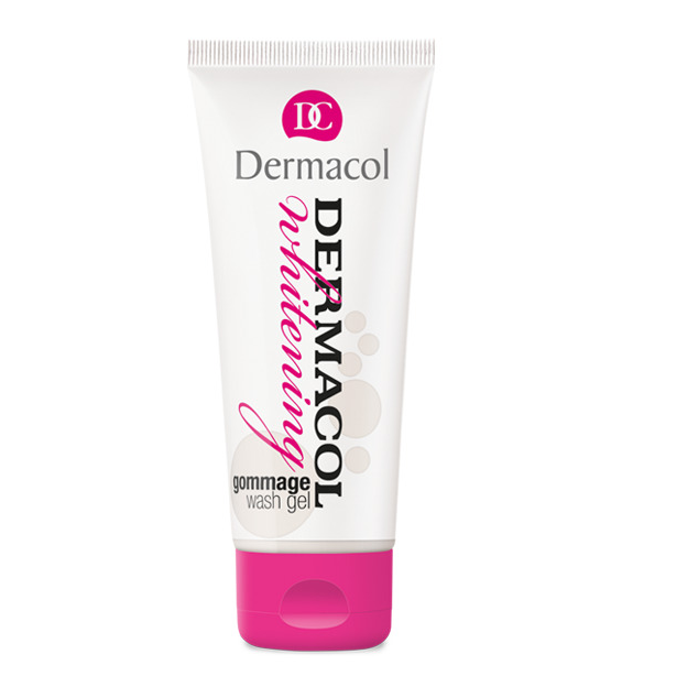 Whitening gommage wash gel