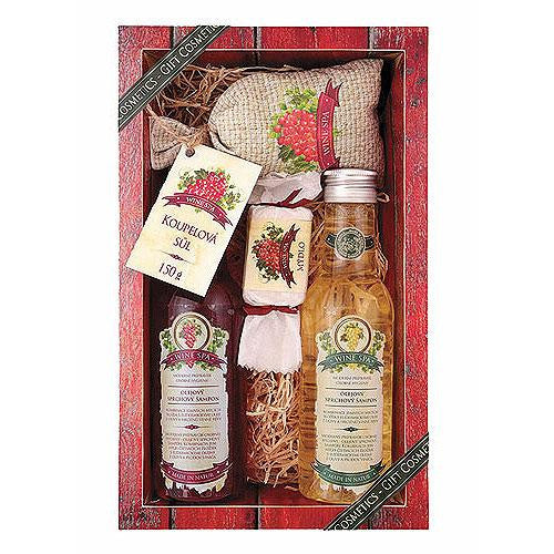 Fabled Look - Wine spa gift pack deluxe