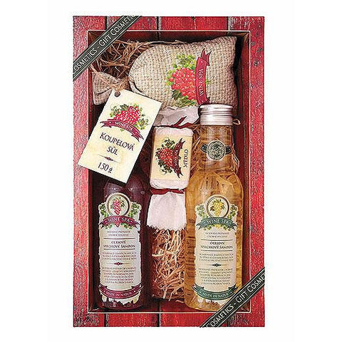 WINE SPA GIFT PACK DELUXE - Bohemian Beauty Care