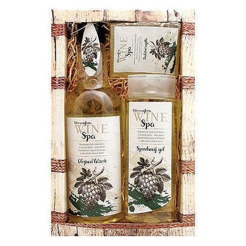WINE SPA GIFT PACK - GREEN - Bohemian Beauty Care