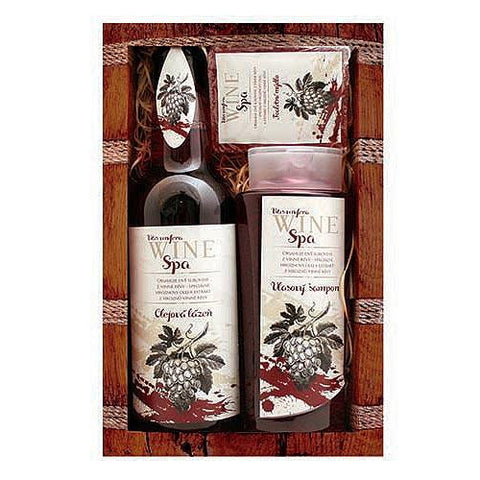 WINE SPA GIFT PACK - RED - Bohemian Beauty Care