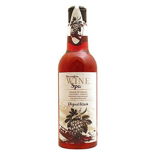 Fabled Look - Wine spa oil bath - red