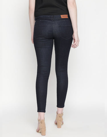 Montreal Push Up Rinse Indigo Jeans
