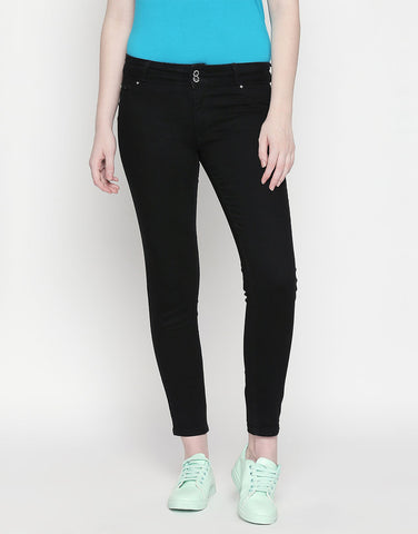 Montreal Push Up Black Jeans
