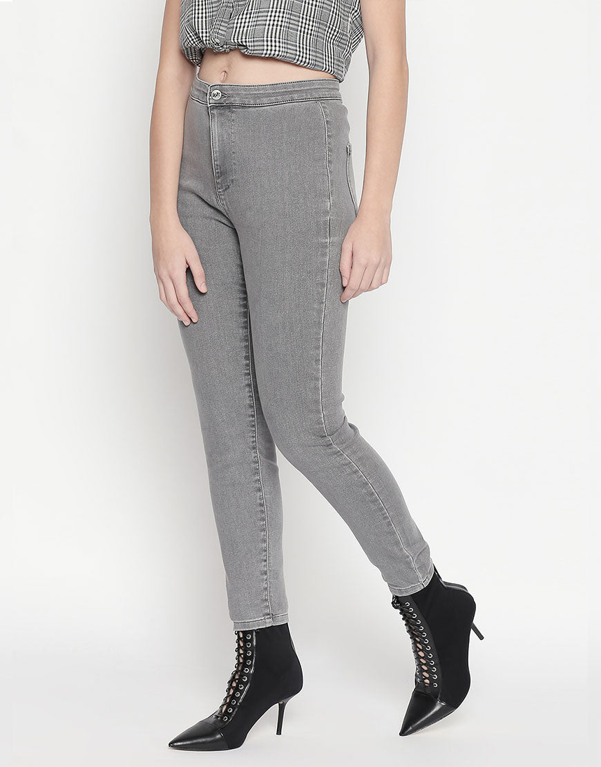 Hanoi Tube Light Grey Jeans