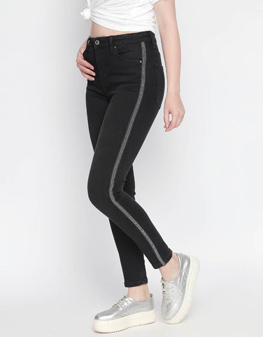Ibitza Black High Waist Jeans