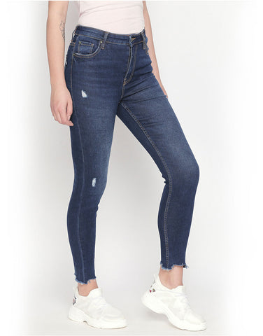Ibiza Mid Blue High Waist Jeans