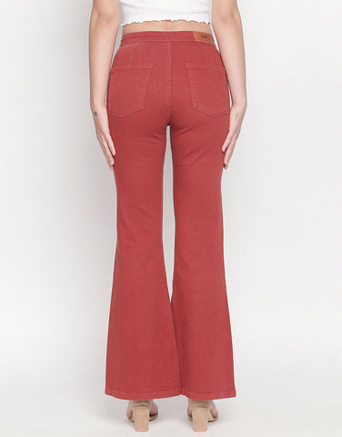 Madrid Rust Flare Jeans