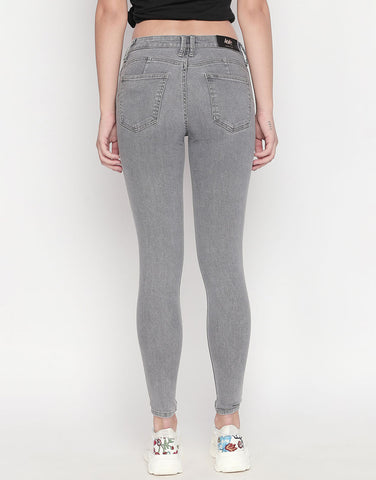 Montreal Grey Push Up Jeans