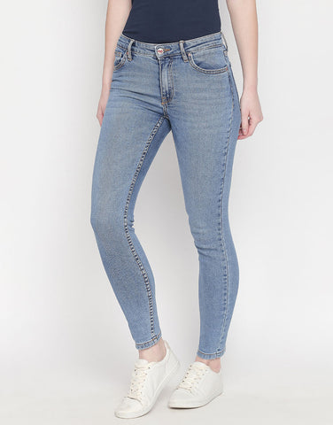 Porto Light Blue Skinny Jeans