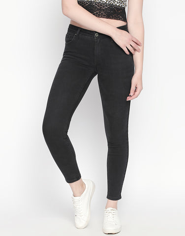 Seoul Black Push Up Jeans