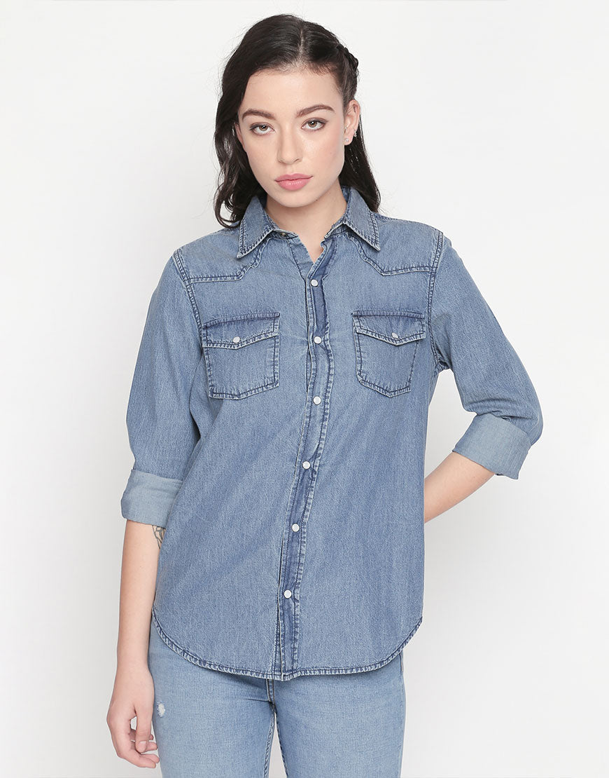 Full Sleeves Denim Shirt