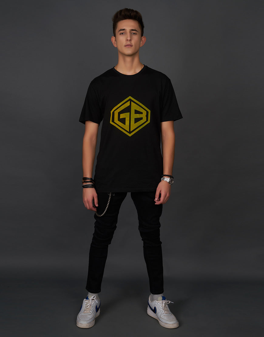 GB Logo Black T-Shirt