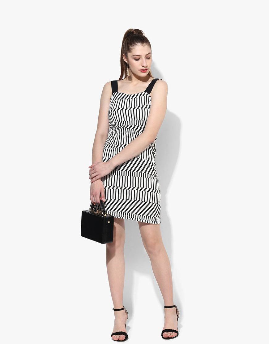 Multi Knit Sleeveless Dress