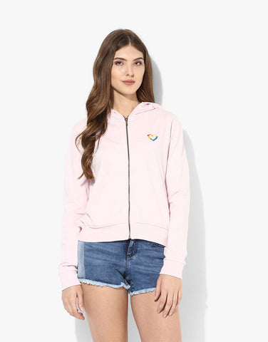 Pink Fleece Ice Cream Jacket