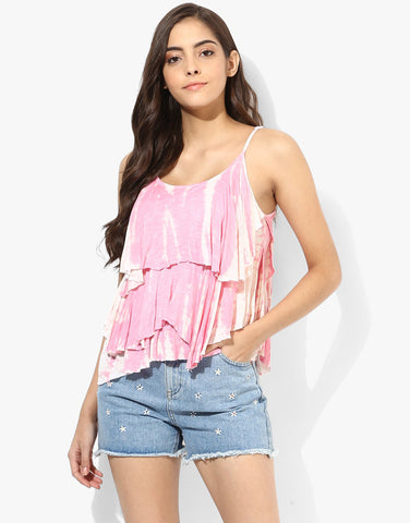 Tie & Dye Layered Top