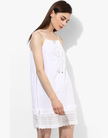 White Cami Dress