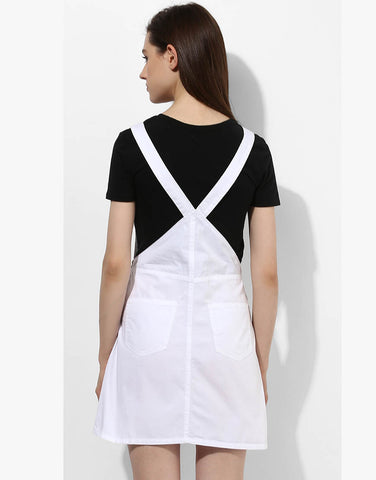 White Cotton Dungaree