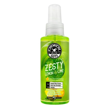Chemical Guys Zesty Lemon N Lime Air Freshener 4oz