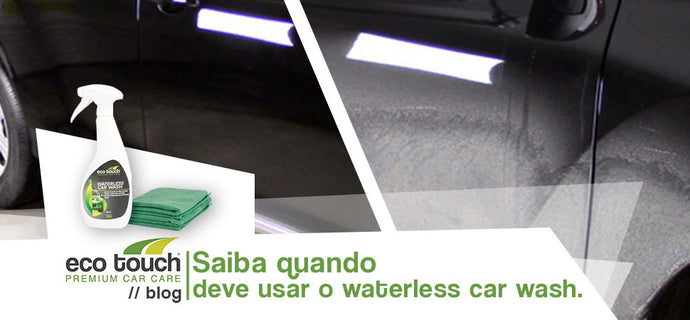 Eco Touch Waterless Car Wash: Quão Sujo é Demasiado Sujo?