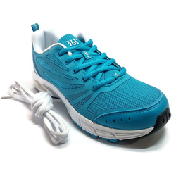 Women's 361 Air Arch-Lock Running Shoes Blue/White with EXTRA SHOE LACE - 361 Shoes - 361 Degrees Philippines