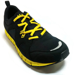 Men's 361 IncrediLITE Running Shoes Black/Yellow - 361 Shoes - 361 Degrees Philippines