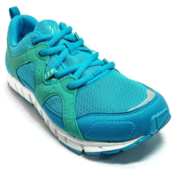 Women's 361 IncrediLITE Running Shoes Blue/Green - 361 Shoes - 361 Degrees Philippines