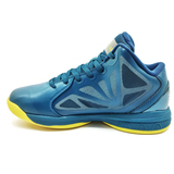 Men's 361 KL Nostalgia Basketball Shoes Blue/Yellow - 361 Shoes - 361 Degrees Philippines
