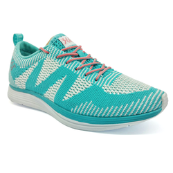 Women's 361 Knitted Running Shoes Light Blue/White