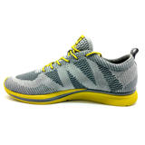 Men's 361 Knitted Running Shoes Grey/Yellow