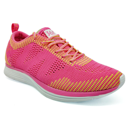 Women's 361 Knitted Running Shoes Light Red/Yellow - 361 Shoes - 361 Degrees Philippines