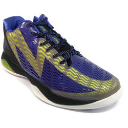 Men's 361 MB4 Basketball Shoes Purple/Green - 361 Shoes - 361 Degrees Philippines