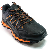 Men's 361 MastaOutdoor ArchLock Trail Running Shoes Black/Orange - 361 Shoes - 361 Degrees Philippines