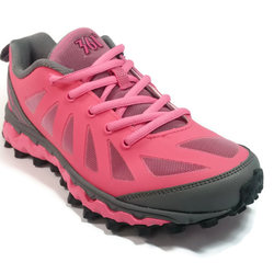 Women's 361 MastaOutdoor ArchLock Trail Running Shoes Pink/Dark Grey - 361 Shoes - 361 Degrees Philippines