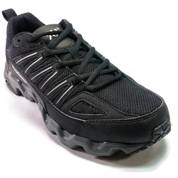 Men's 361 MastaOutdoor Trail Running Shoes Black/Grey - 361 Shoes - 361 Degrees Philippines