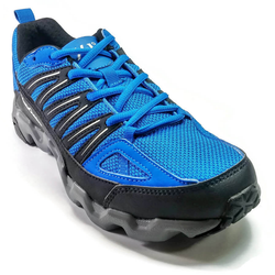 Men's 361 MastaOutdoor Trail Running Shoes Blue/Black - 361 Shoes - 361 Degrees Philippines