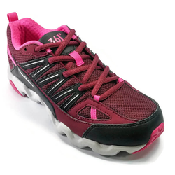 Women's 361 MastaOutdoor Trail Running Shoes Dark Red/Black - 361 Shoes - 361 Degrees Philippines