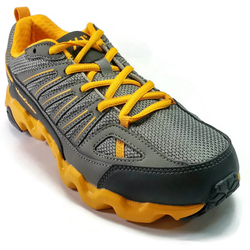Women's 361 MastaOutdoor Trail Running Shoes Medium Grey/Yellow - 361 Shoes - 361 Degrees Philippines