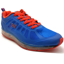 Men's 361 SAC-Air Running Shoes Blue/Red - 361 Shoes - 361 Degrees Philippines