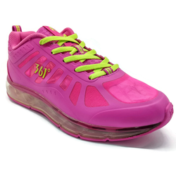 Women's 361 SAC-Air Running Shoes Pink/Light Green - 361 Shoes - 361 Degrees Philippines