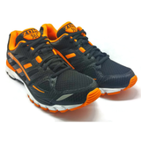 Men's 361 Zomi Running Shoes Black/Orange - 361 Shoes - 361 Degrees Philippines