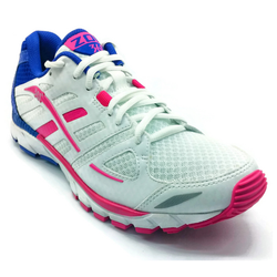 Women's 361 Zomi Running Shoes White/Pink/Blue - 361 Shoes - 361 Degrees Philippines