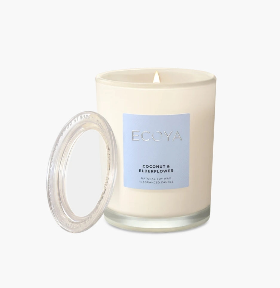 Coconut & Elderflower Metro Candle (270g) by Ecoya
