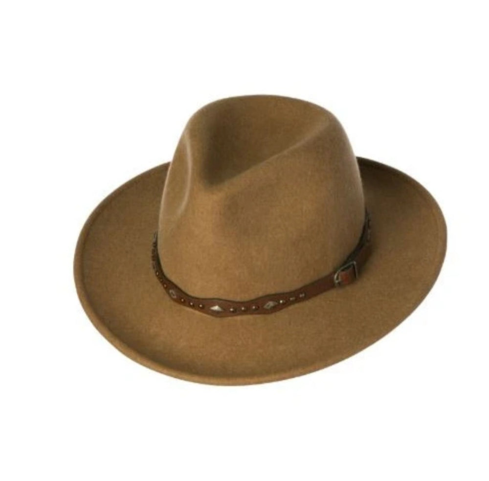 Ladies Mid Brim Hat ~ GiGi (Tan Marle)