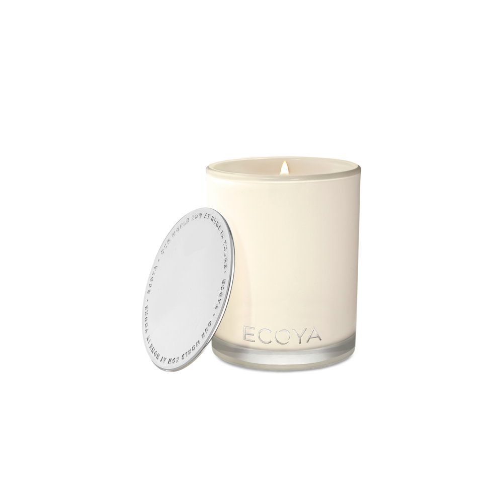 Cedar Wood & Leather Madison Candle (400g) by Ecoya