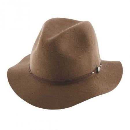 Ladies Mid Brim Hat ~ Matilda (chocolate)