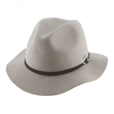 Ladies Mid Brim Hat ~ Matilda (grey)