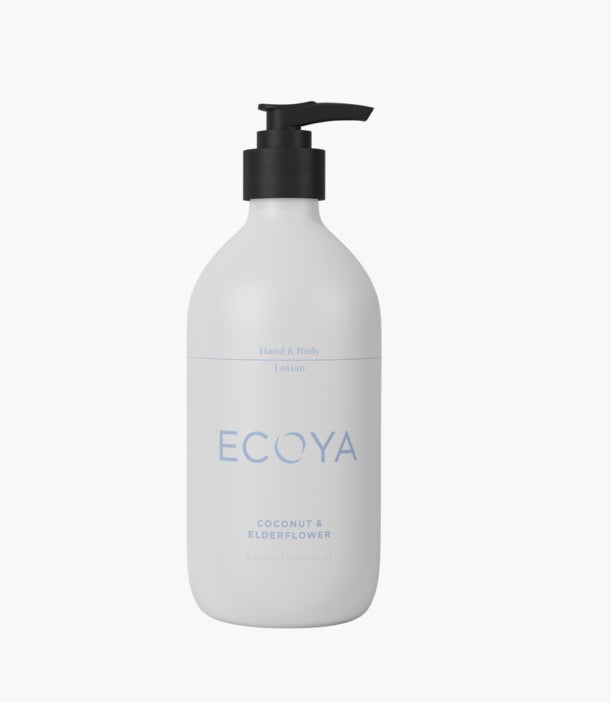 Coconut & Elderflower Hand & Body Lotion 450ml by Ecoya