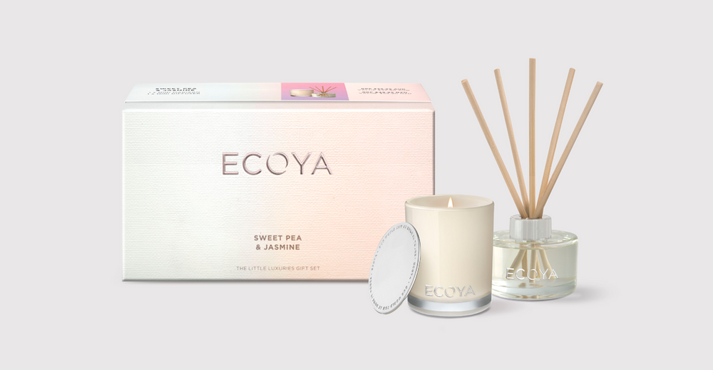 Little Luxuries Gift Pack ~ 'Sweet Pea & Jasmine' by Ecoya